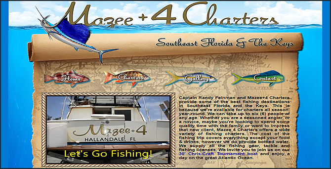 Mazee+4 Fishing Charters