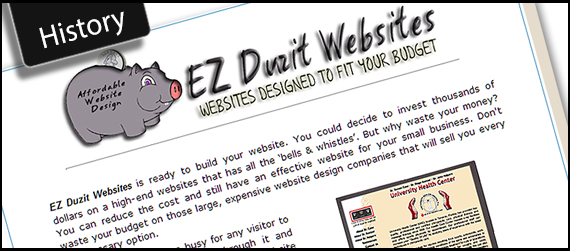 The History of EZ Duzit Websites