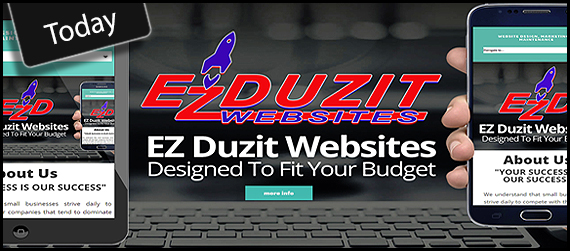 EZ Duzit Websites - Today!